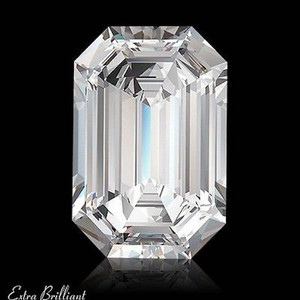 GIA Certified 1.25 Carat Emerald Diamond G Color VS2 Clarity Excellent Investment