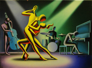 ALL THE RIGHT NOTES BY MARK KOSTABI