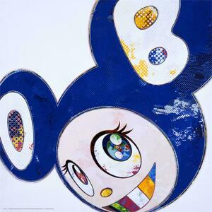 AND THEN MELTING DOB (BLUE)  BY TAKASHI MURAKAMI
