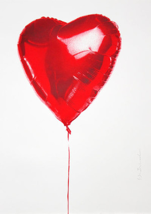 HOLD ON TO MY HE(ART) BY MR. BRAINWASH