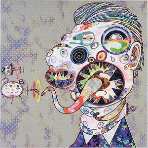 HOMAGE TO FRANCIS BACON NO. 4  BY TAKASHI MURAKAMI