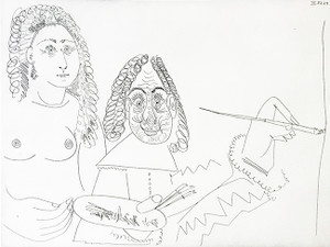 SERIES 347 (BLOCH 1502) BY PABLO PICASSO