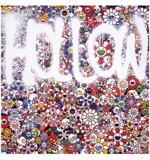 FLOWER HOLLOW  BY TAKASHI MURAKAMI