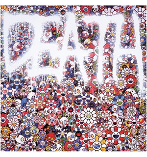 FLOWER DEATH  BY TAKASHI MURAKAMI