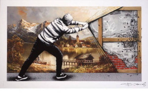 BEHIND THE CURTAIN (THE WALL) BY MARTIN WHATSON & PEZ