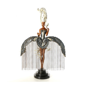 HER SECRET ADMIRERS (SCULPTURE) BY ERTE