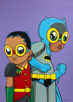 FLYNAMIC DUO (PURPLE) BY HEBRU BRANTLEY