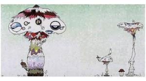 HYPHA WILL COVER THE WORLD, LITTLE BY LITTLE  BY TAKASHI MURAKAMI