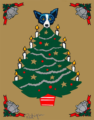 TREE TOPPER BY GEORGE RODRIGUE