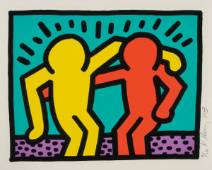 POP SHOP I (3) BY KEITH HARING