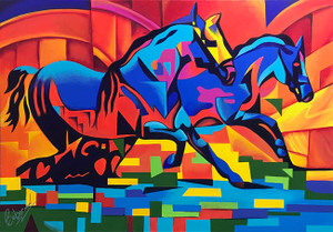 HORSES BY KEN BEBERMAN