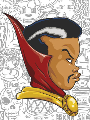 DR. STRANGE BY HEBRU BRANTLEY