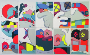 BLAME GAME (SET OF 10) BY KAWS