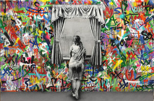 GIRL AT THE WINDOW BY MARTIN WHATSON