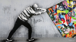 BEHIND THE CURTAIN (REGULAR EDITION) BY MARTIN WHATSON