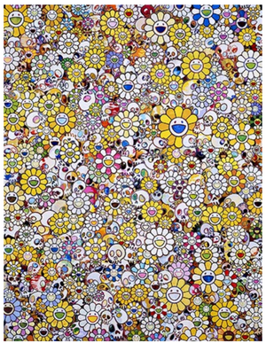 """MG, 1960-2012"" BY TAKASHI MURAKAMI"