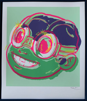 SMILE (GREEN) BY HEBRU BRANTLEY