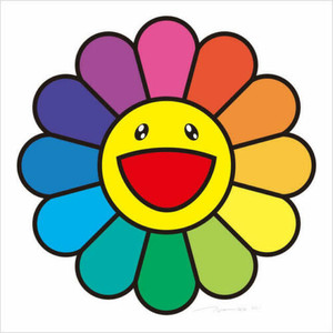 RAINBOW FLOWER BY TAKASHI MURAKAMI