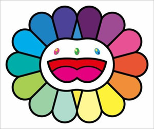MULTICOLOR DOUBLE FACE (WHITE)  BY TAKASHI MURAKAMI