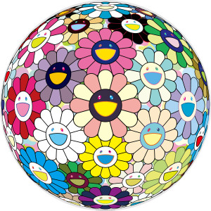 FLOWERBALL PRAYER BY TAKASHI MURAKAMI