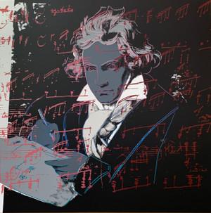 BEETHOVEN (391) BY ANDY WARHOL FOR SUNDAY B. MORNING