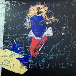 BEETHOVEN (390) BY ANDY WARHOL FOR SUNDAY B. MORNING
