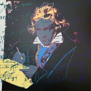 BEETHOVEN (393) BY ANDY WARHOL FOR SUNDAY B. MORNING