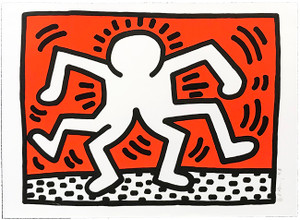 DOUBLE MAN BY KEITH HARING