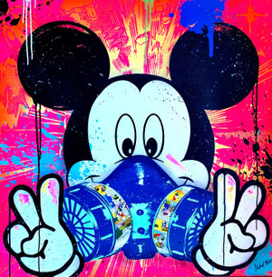 MICKEY GRAFFITI BY MICHEL FRIESS