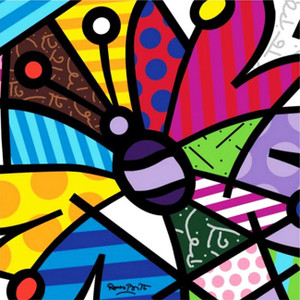 ROTHCHILD BUTTERFLY BY ROMERO BRITTO