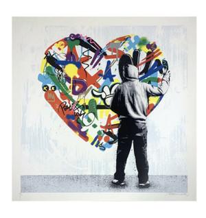PAINT LOVE BY MARTIN WHATSON