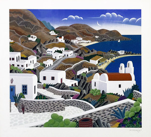 MYKONOS PLATE BY THOMAS MCKNIGHT