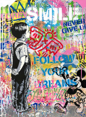 WITH ALL MY LOVE !! (ORIGINAL) BY MR. BRAINWASH