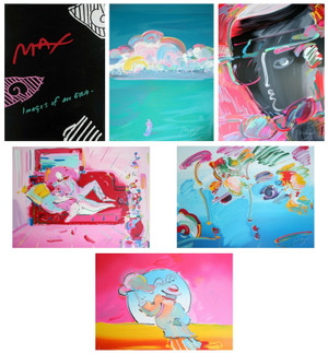 IMAGES OF AN ERA (SUITE OF 5) BY PETER MAX