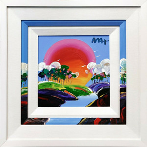 WITHOUT BORDERS (ORIGINAL) BY PETER MAX