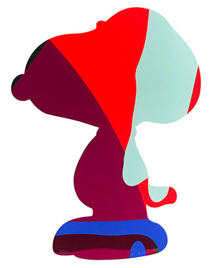 UNTITLED SNOOPY BY KAWS