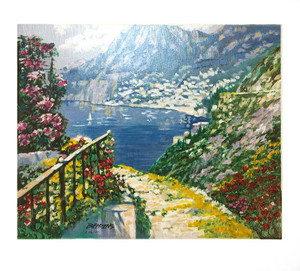 ROAD TO POSITANO BY HOWARD BEHRENS