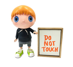 DO NOT TOUCH (MULTICOLOR) BY JAVIER CALLEJA