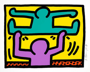 POP SHOP 1 (2) BY KEITH HARING
