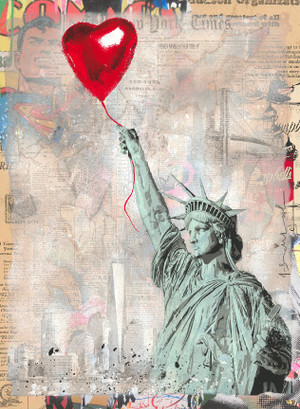 HEART AND SOUL I, 2020 (UNIQUE) BY MR. BRAINWASH