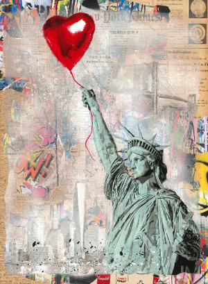 HEART AND SOUL II, 2020 (UNIQUE) BY MR. BRAINWASH