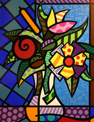 IT'S FOR YOU BY ROMERO BRITTO