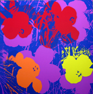 FLOWERS 11.66 BY ANDY WARHOL FOR SUNDAY B. MORNING