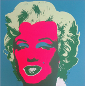 MARILYN MONROE 11.30 BY ANDY WARHOL FOR SUNDAY B. MORNING