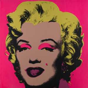 MARILYN MONROE 11.31 BY ANDY WARHOL FOR SUNDAY B. MORNING