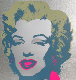 DIAMOND DUST MARILYN MONROE BY ANDY WARHOL FOR SUNDAY B. MORNING