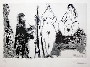 347 SERIES (BLOCH 1715) BY PABLO PICASSO