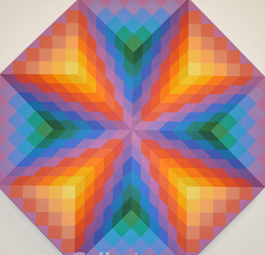 X (OCTAGON SHAPE) BY STAN SLUTSKY