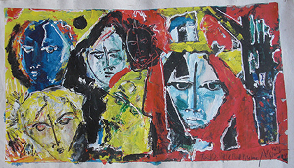 FACES IN THE CROWD BY NEITH NEVELSON