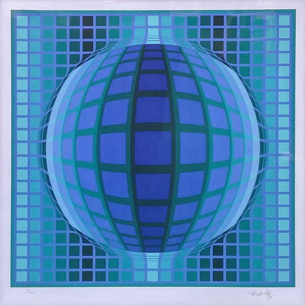 DETVOE BY VICTOR VASARELY